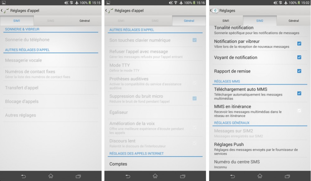 android test interface logicielle sony xperia t2 ultra dual images 03