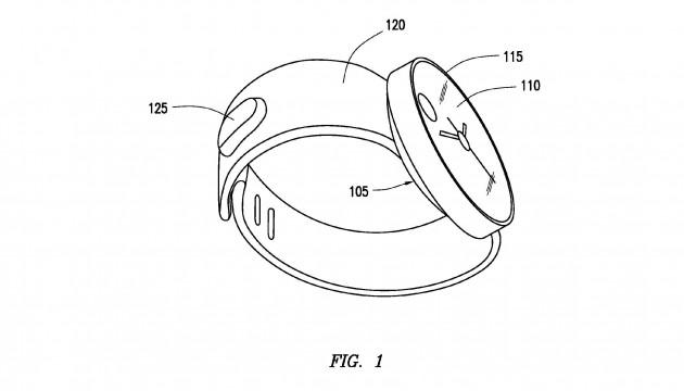 brevet samsung montre ronde
