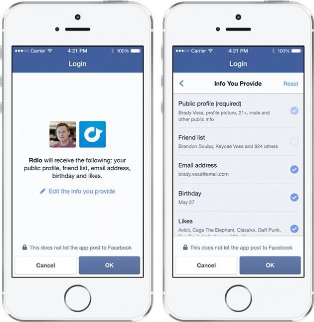 facebook login conference f8 2014