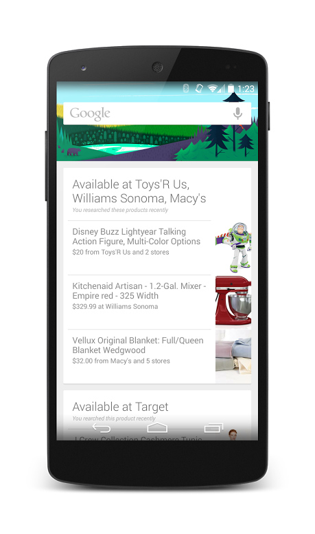 google now products