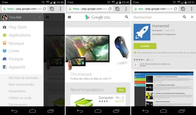 google play store mobile web ui interface images 01