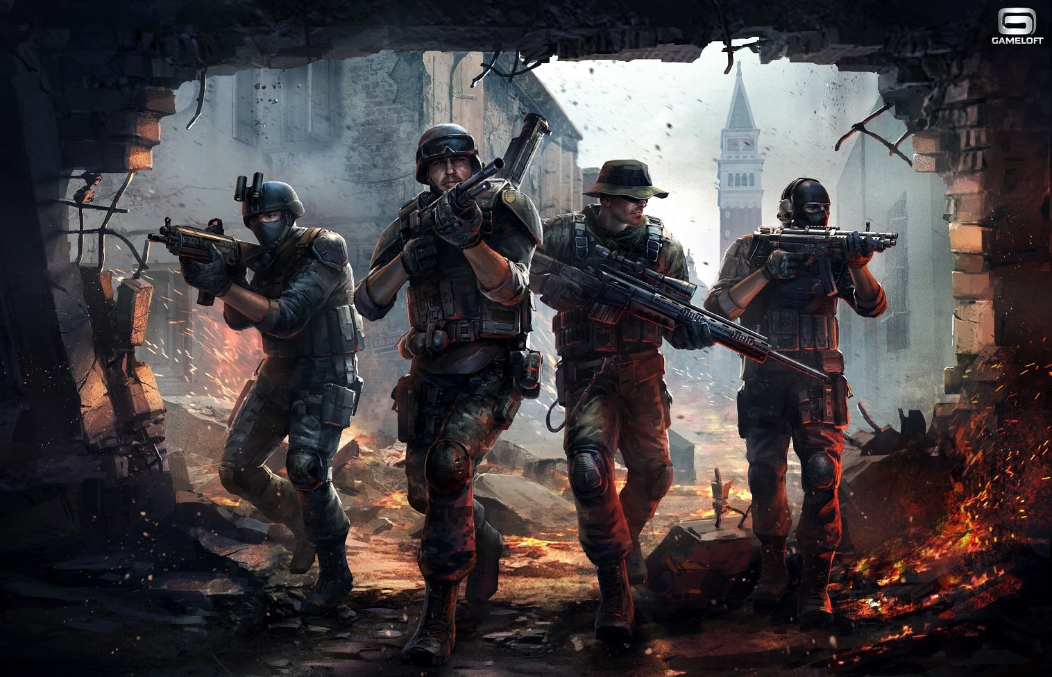 Download modern combat 5 Games Android Free | modern ...