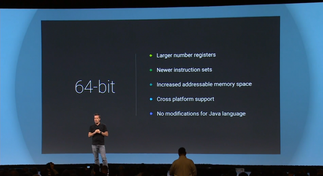64 bits Android L