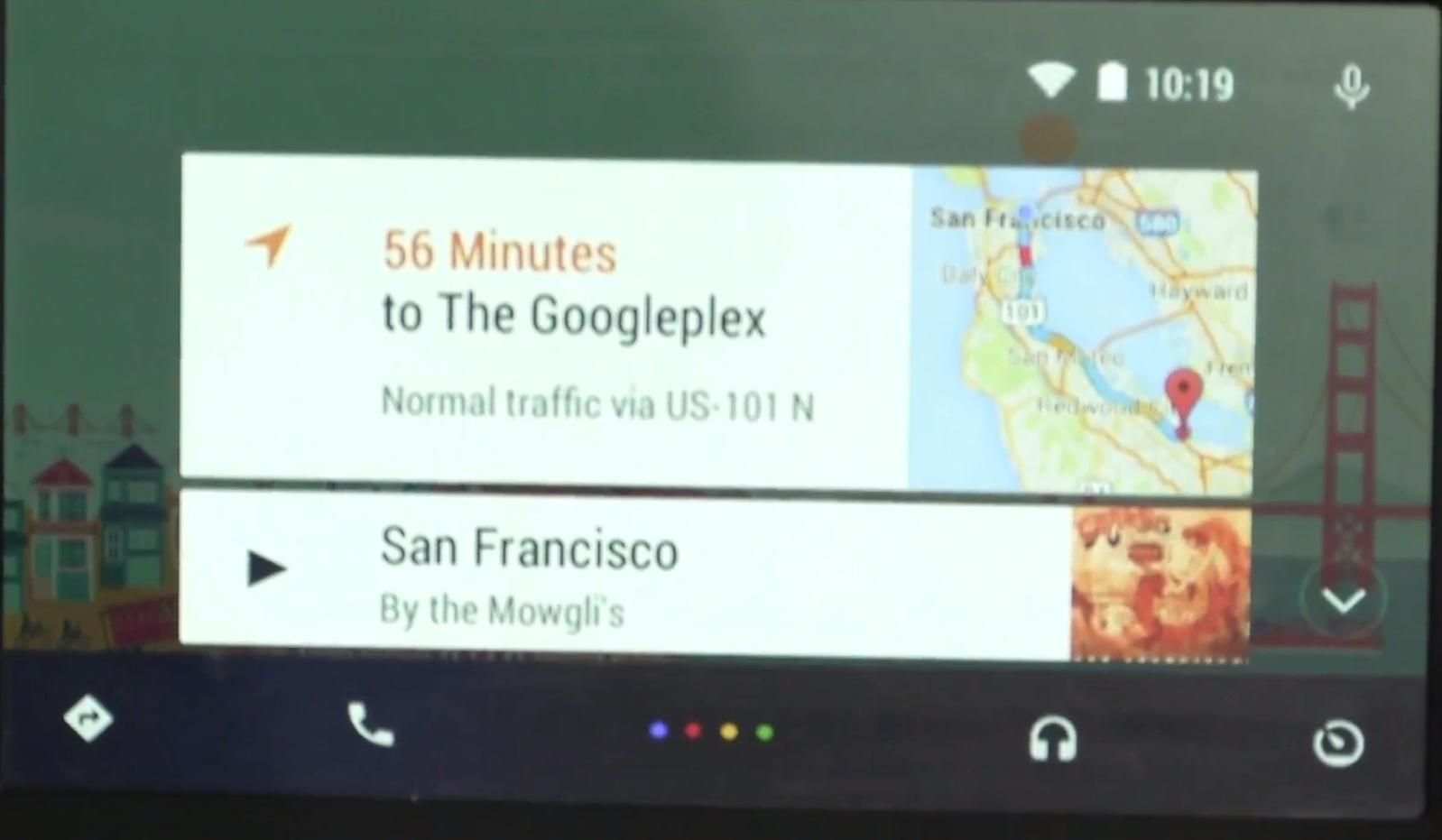 google i o 2014 android auto pour les voitures est officiel frandroid. Black Bedroom Furniture Sets. Home Design Ideas