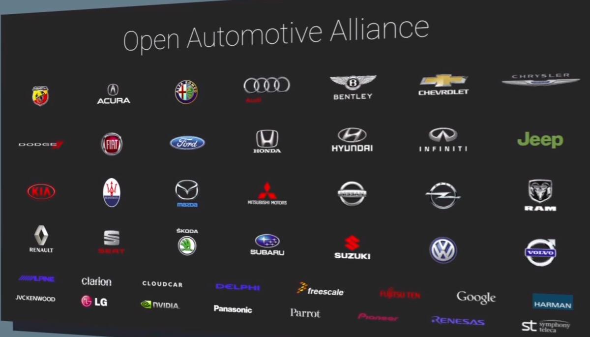 lg rejoint l 39 open automotive alliance et devient partenaire d 39 android auto frandroid. Black Bedroom Furniture Sets. Home Design Ideas