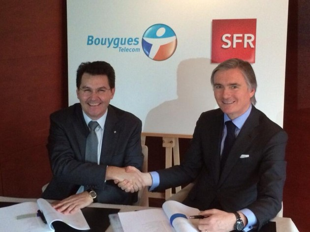 Bouygues SFR accord mutualisation