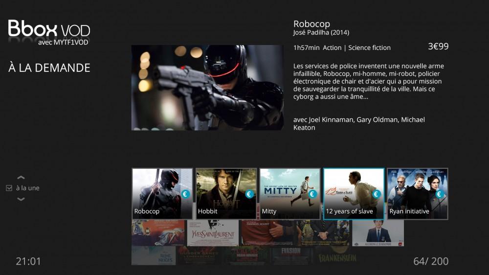 Ecran Miami 2 - Bbox VOD