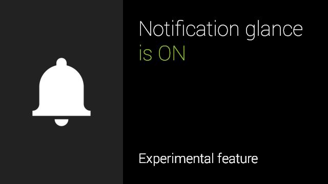 Notification-Glance