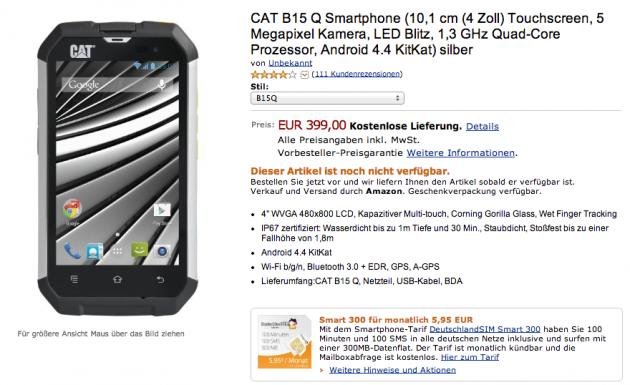 android amazon.de allemagne germany europe cat b15q précommande image 01