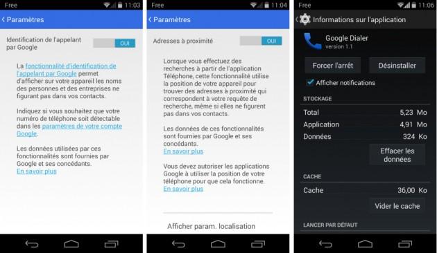 android google dialer 1.1 téléphone image 02