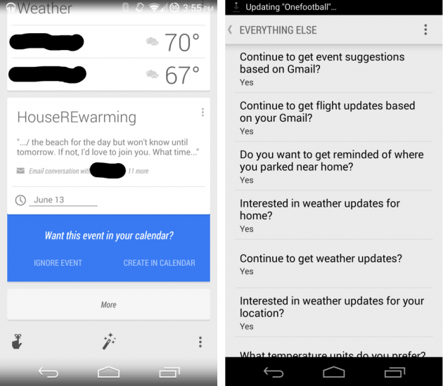 android google now gmail calendar agenda integration image 01