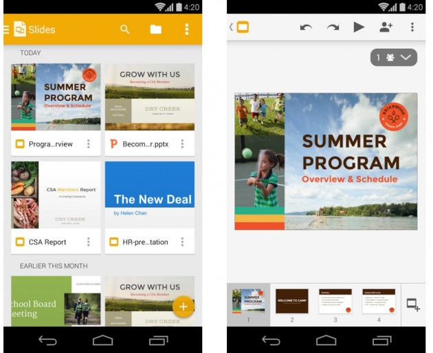 android google slides 1.0.7 images 01