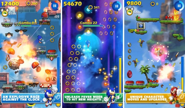 android ios sega sonic jump fever image 02