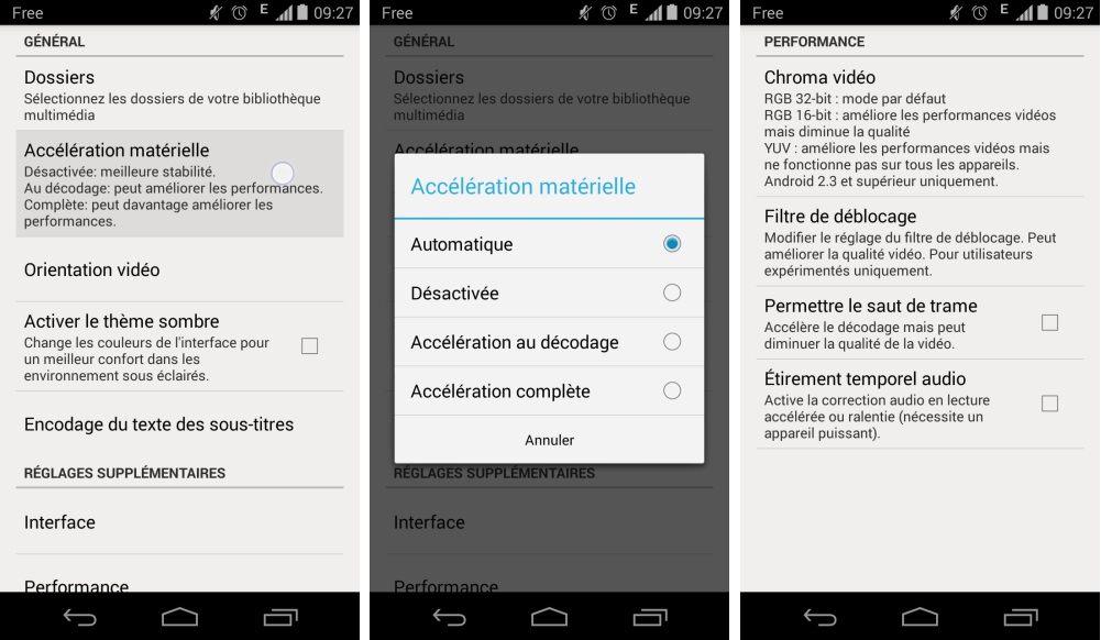 VLC for Android Beta v0 9 0 6 passe au flat sur Android !
