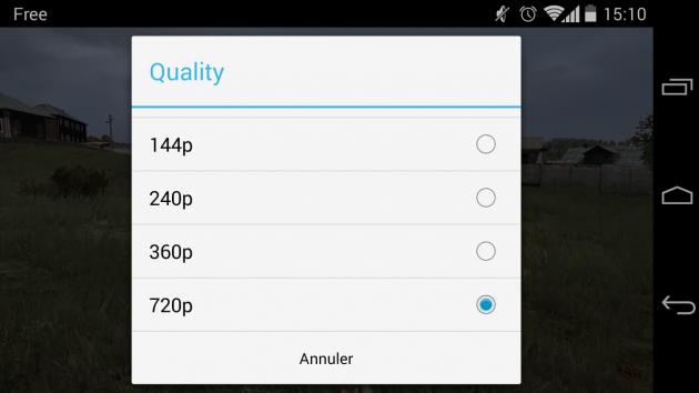 android youtube 5.7.36 gestion qualité vidéo image 01
