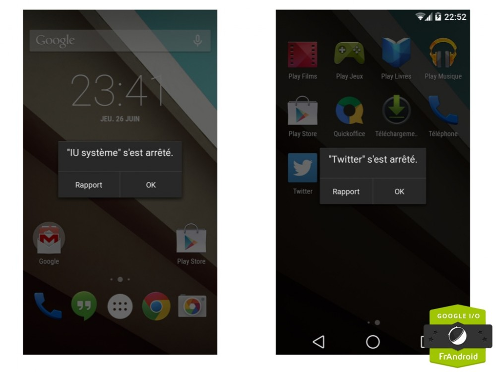 Android L : Aille !