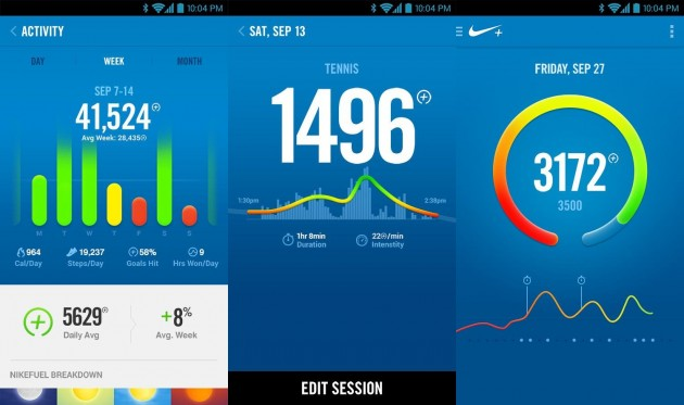 nike fuelband application android