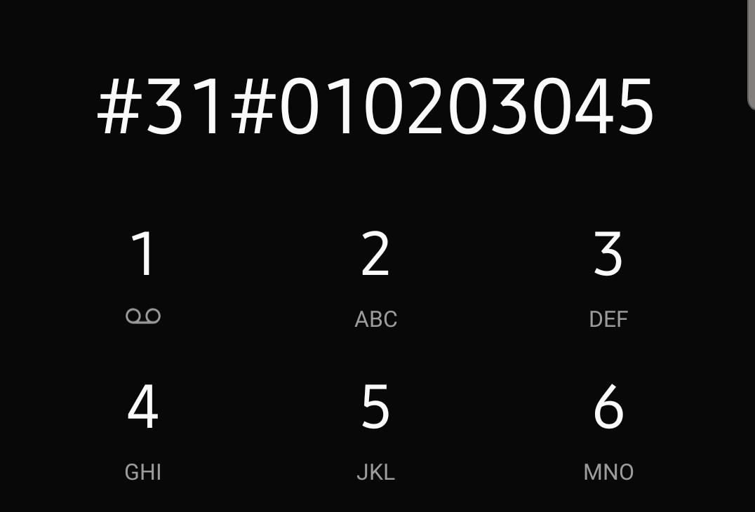 Cacher son numéro avec le préfixe #31#