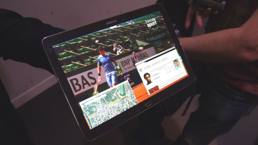 Tablette 4K Samsung