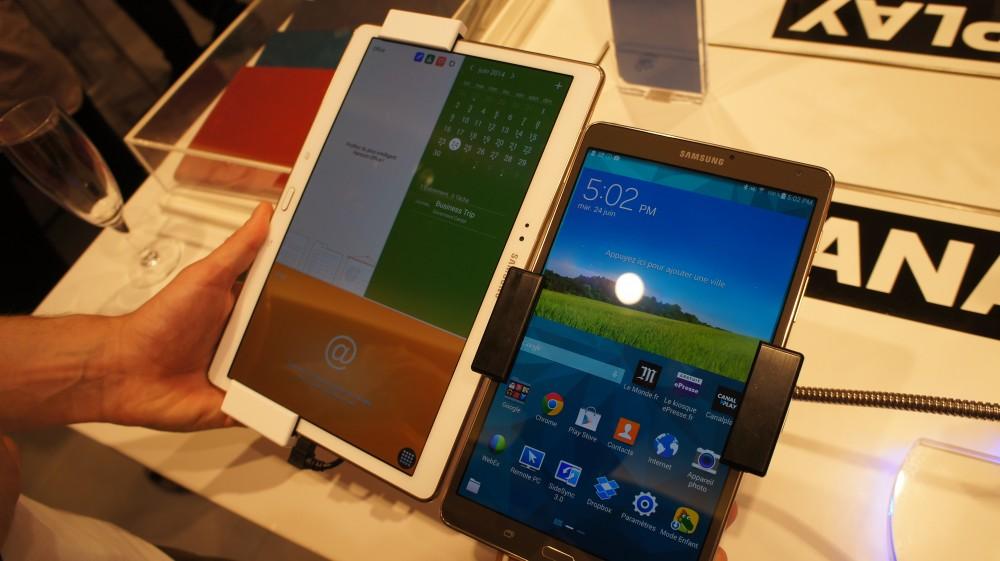 Les deux tablettes