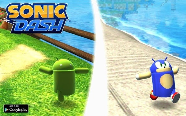 sonic dash andronic