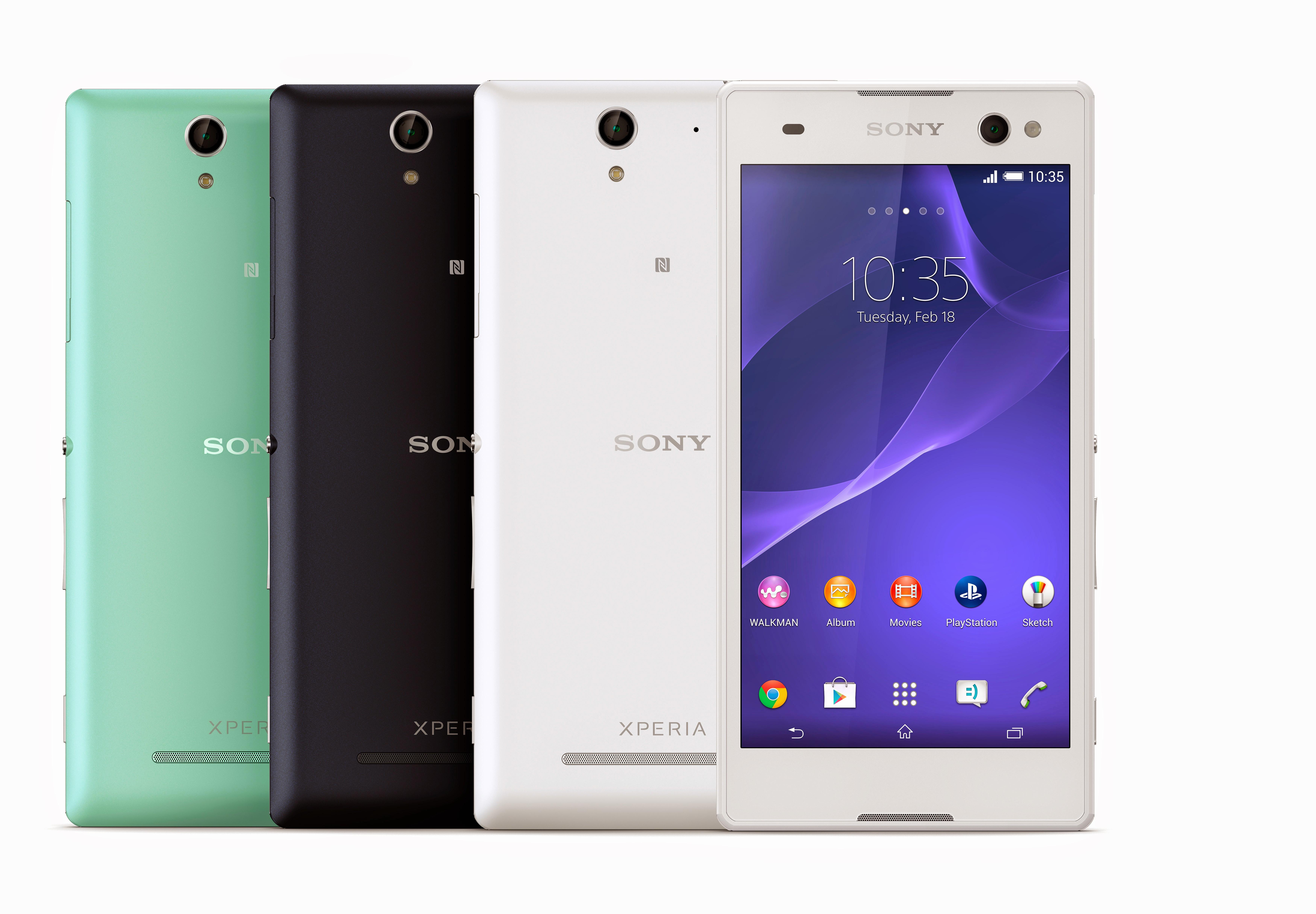 Sony Xperia C3 (Dual) : LE selfiephone - FrAndroid