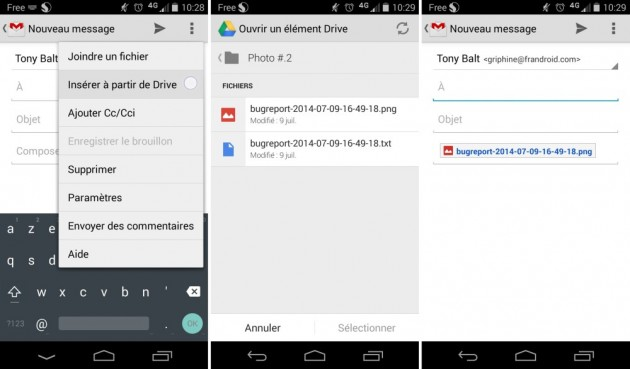 Android Gmail 4.9 Google Drive Integration Image 01