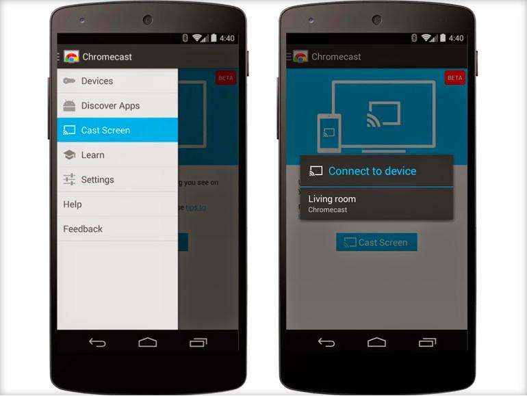 Comment afficher l cran d un smartphone ou d une tablette for Miroir pc ecran