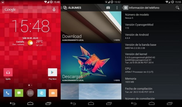 CyanogenMod 11S nexus 5