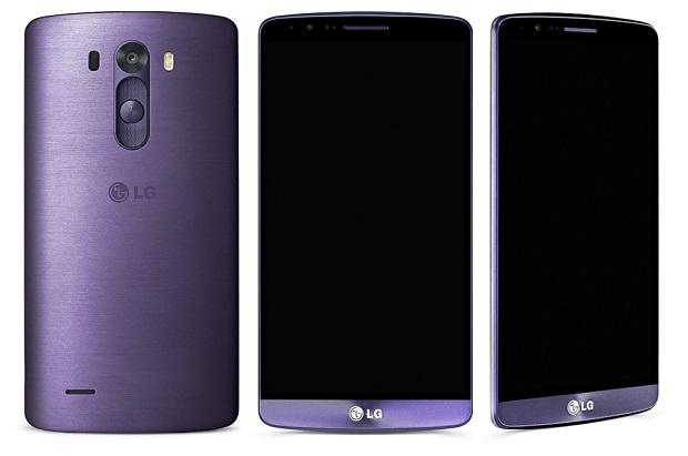 LG G3 violet lune