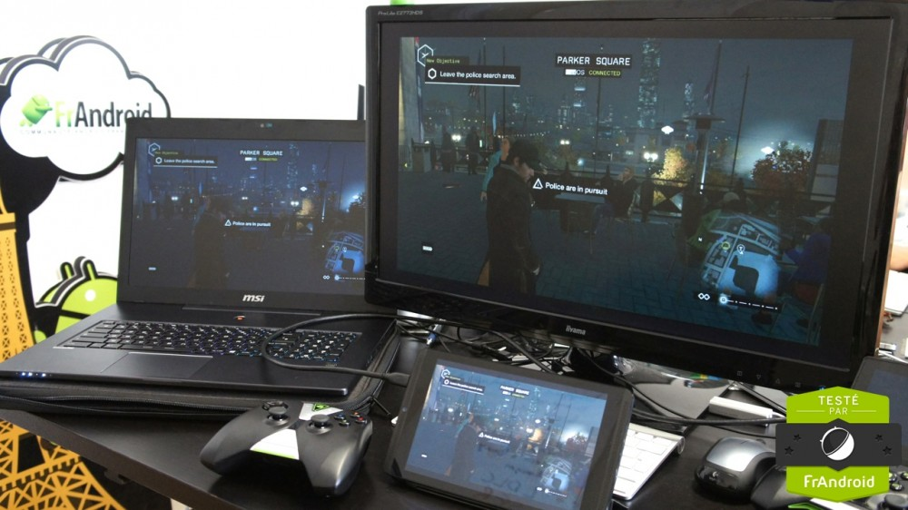 Nvidia Shield Tablet GameStream