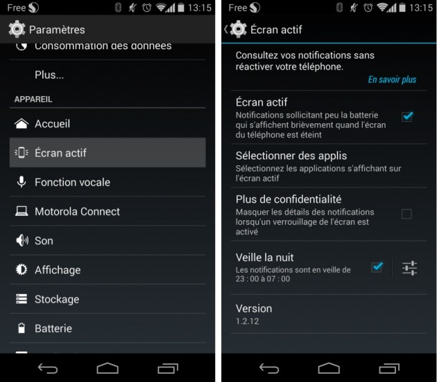 android active display notifications écran actif motorola moto g 3g 4g image 01