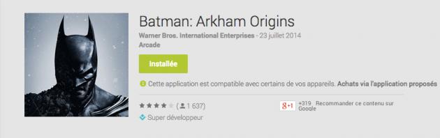 android batman arkham origins image 0à
