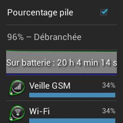 android interface logicielle test frandroid omate truesmart autonomie endurance batterie image 10