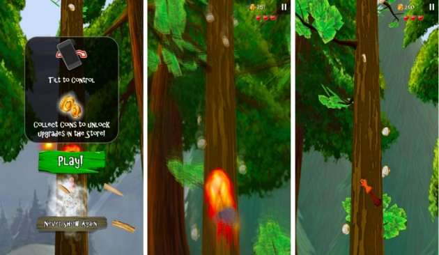 android nuts! runner game image 01