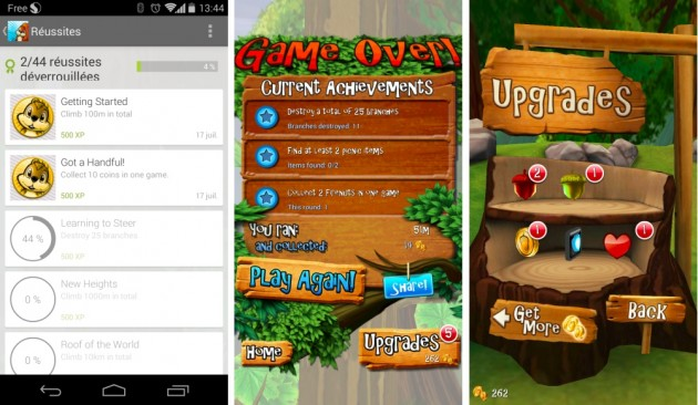 android nuts! runner game image 02