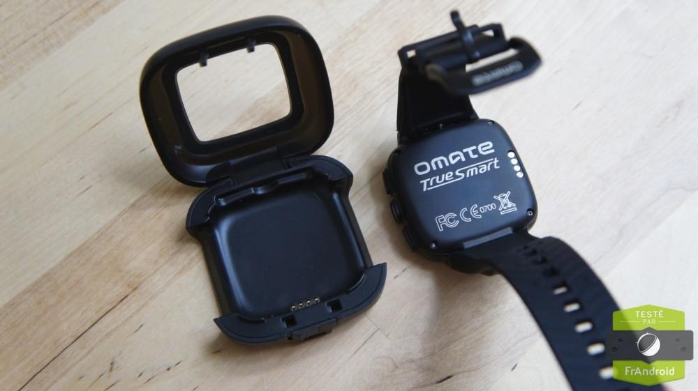 android prise en main test omate truesmart dock recharge batterie image 0001