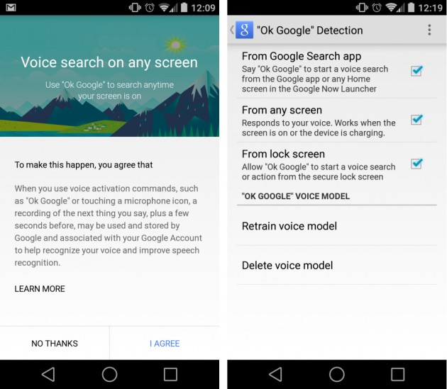 android recherche google search okay google image 01