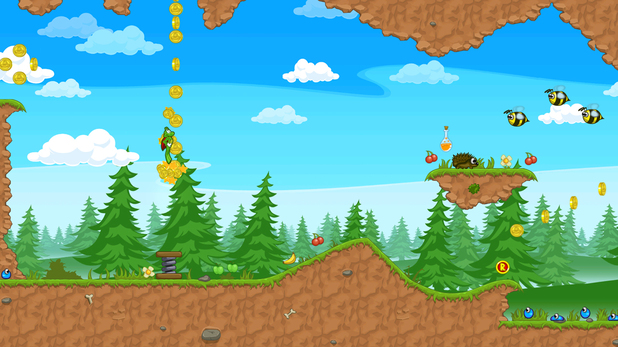 android superfrog hd gameplay image 01