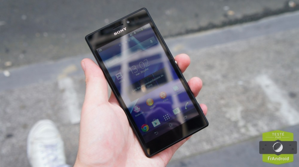 android test frandroid sony xperia m2 qualité écran image 01