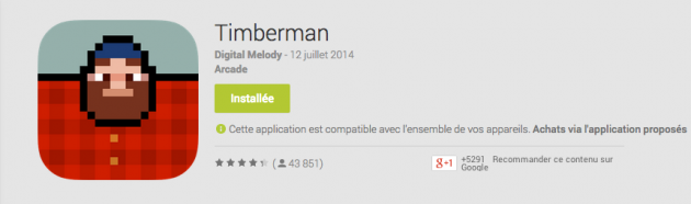 android timberman image 01