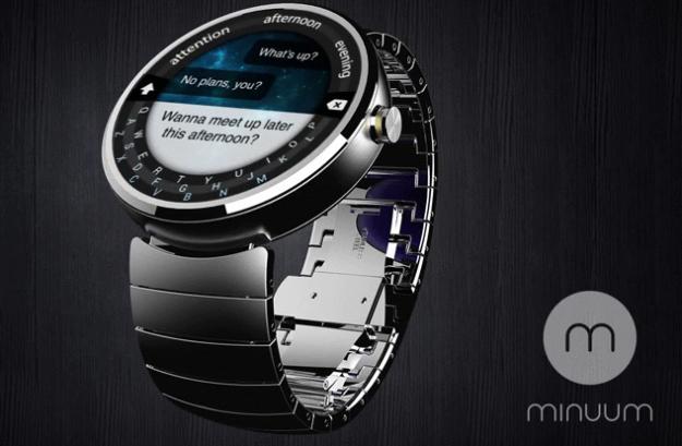 android wear minuum keyboard motorola moto 360 live image 1
