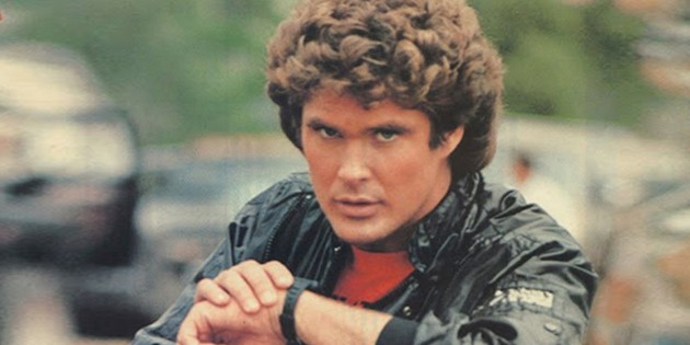 android wear top cinq des applications k2000 David Hasselhoff image 01