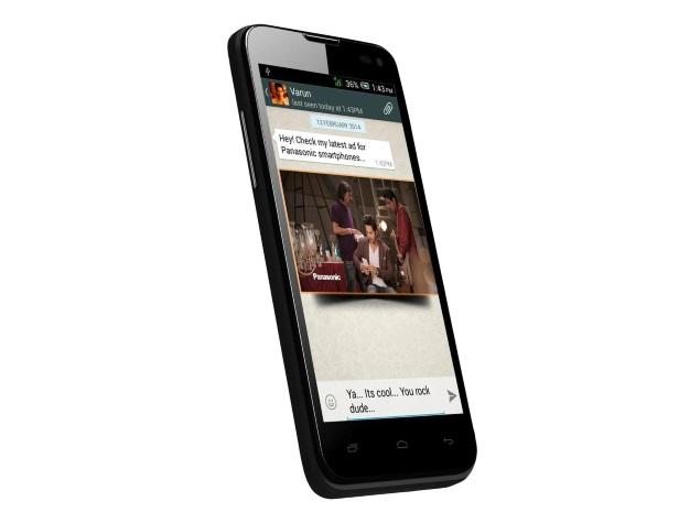 panasonic t41 un mobile quadric ur double sim et kitkat moins de 100 euros en inde. Black Bedroom Furniture Sets. Home Design Ideas