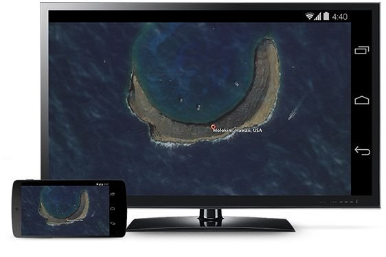 chromecast mirroring