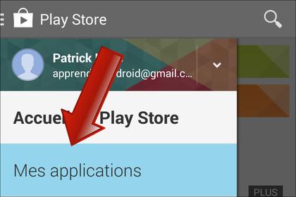 détecter l'application désinstaller le système android