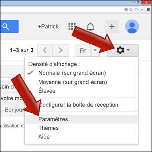 Se déconnecter de gmail android