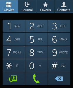 aper u de l 39 application t l phone sur android frandroid. Black Bedroom Furniture Sets. Home Design Ideas