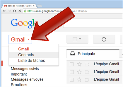 Comment Acc 233 Der Au Carnet D Adresses Gmail Frandroid