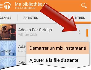comment chercher une musique sur google